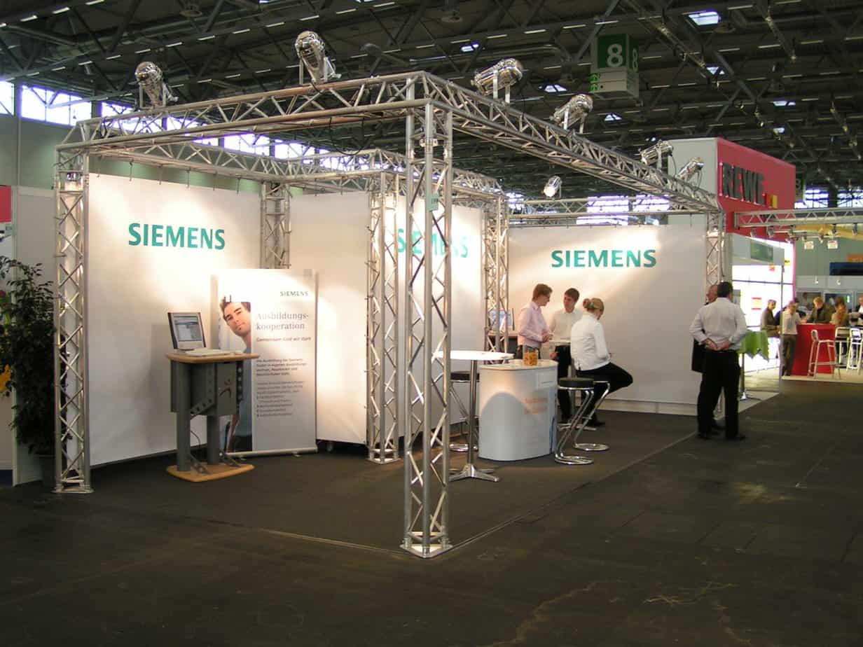 Messestand Siemens