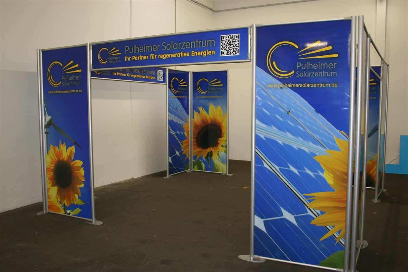 Messeservice Messebau Solarzentrum Pulheim